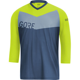 GORE WEAR C5 All Mountain 3/4 Jersey Men deep water blue/citrus green